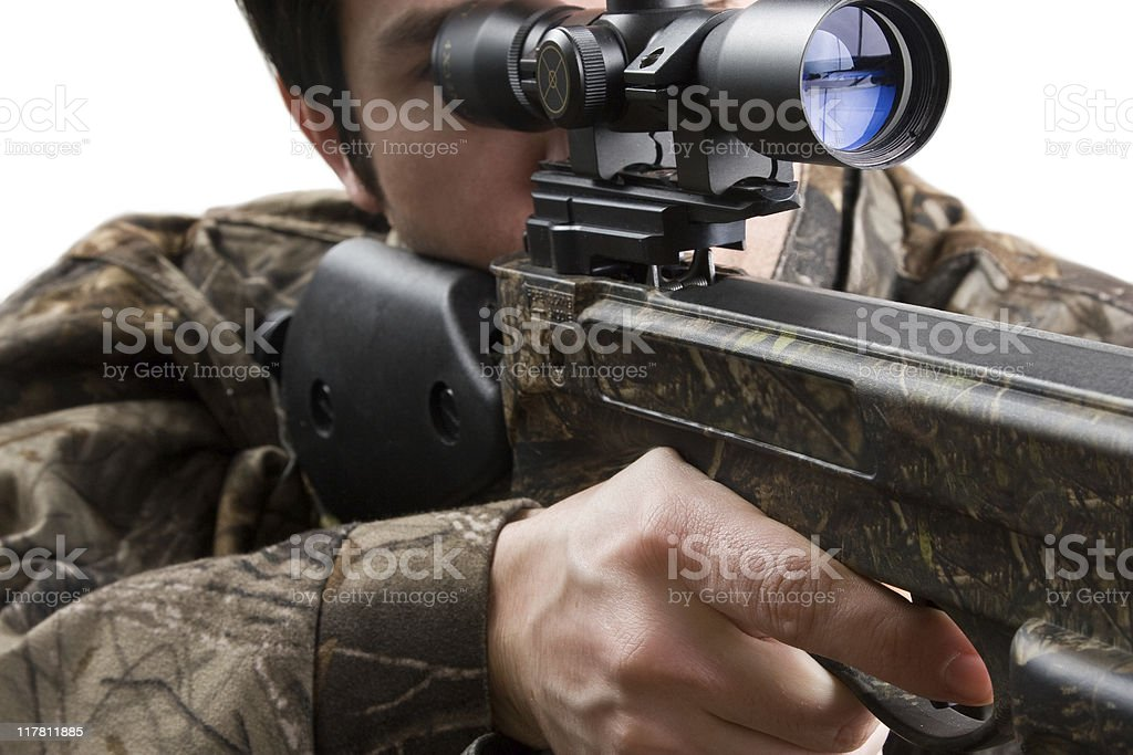 Finger on Trigger royalty-free stock photo