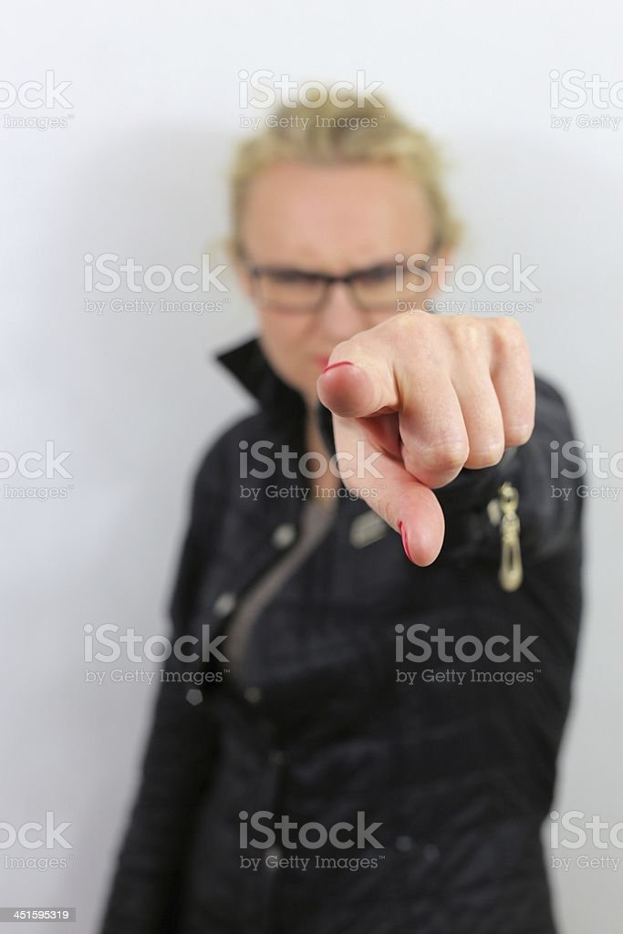 finger royalty-free stock photo
