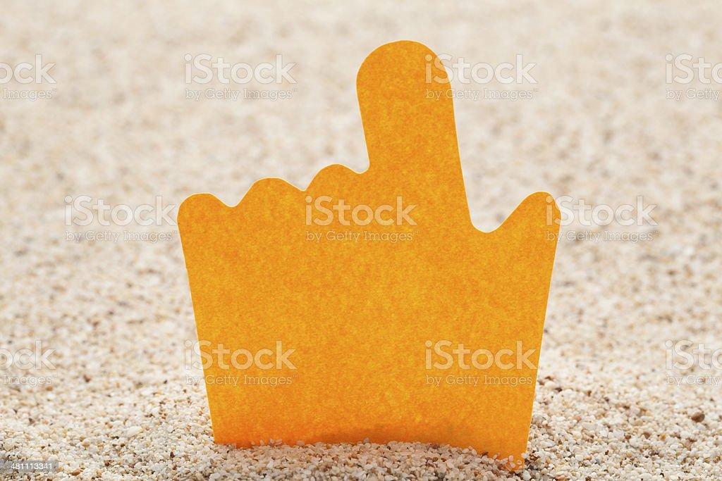 Finger stock photo