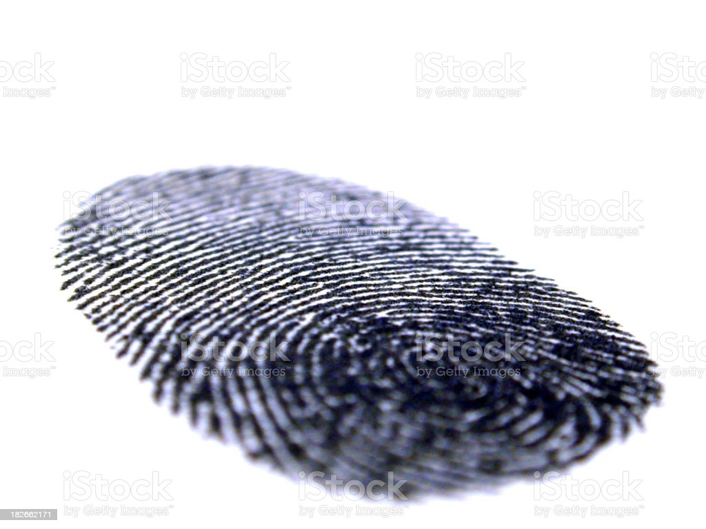 Finger Print 2 royalty-free stock photo