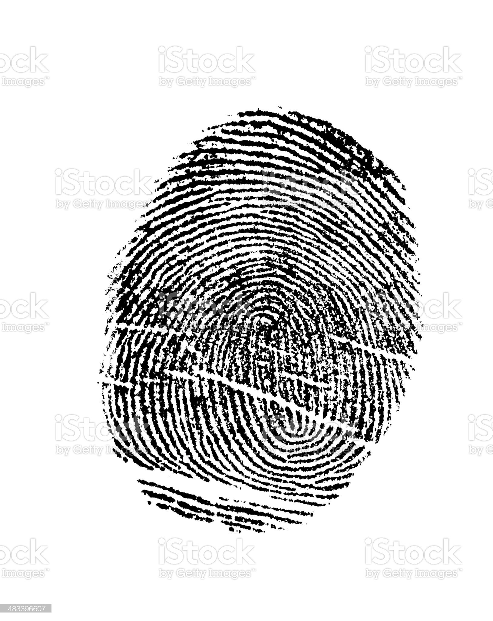 Finger Print royalty-free stock photo