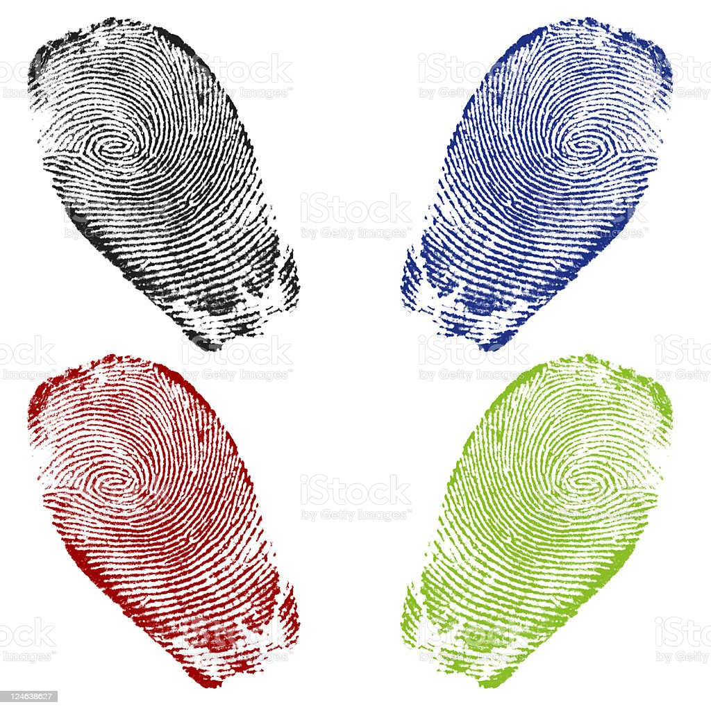 Finger Prints royalty-free stock photo