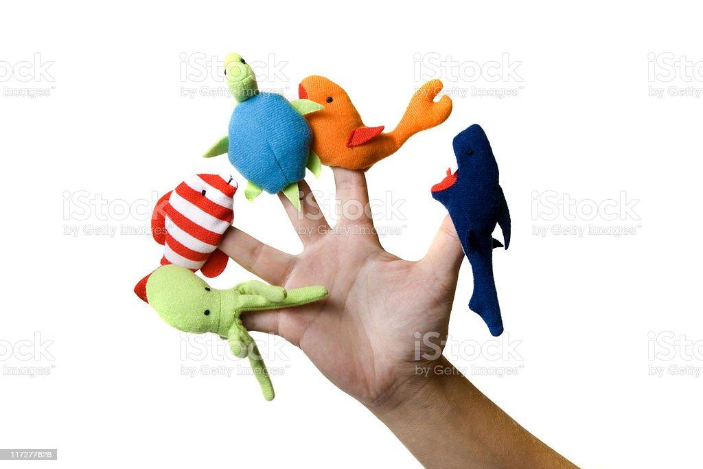 Finger toys royalty-free stock photo