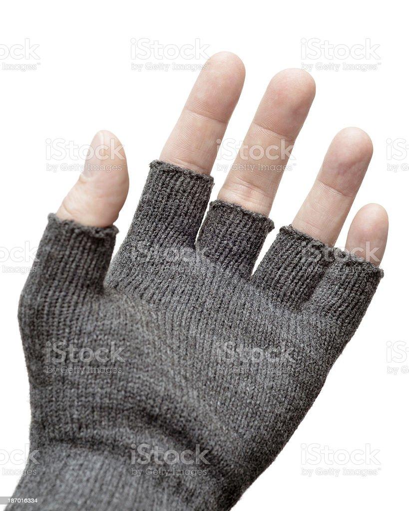 Fingerless Glove stock photo