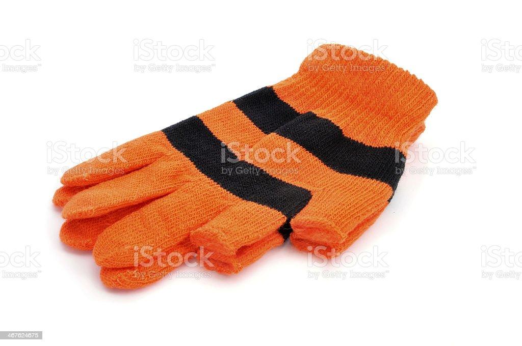 fingerless gloves stock photo