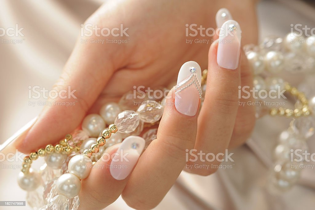 Fingernail stock photo