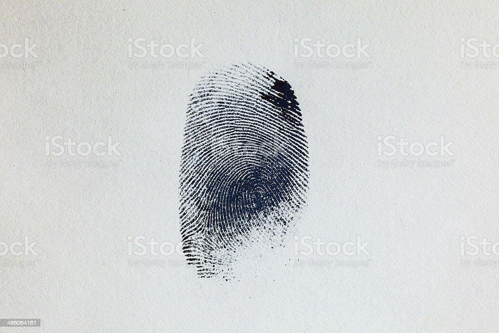 Fingerprint 04 stock photo