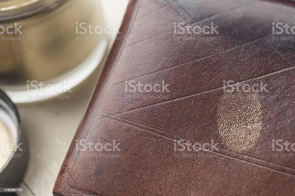 fingerprint series 05 royalty-free stock photo