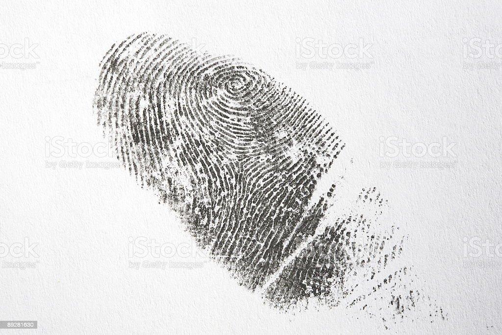 Fingerprint series royalty-free stock photo