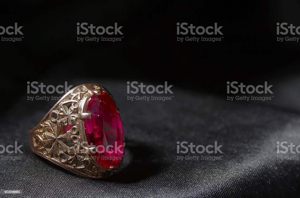 Finger-ring royalty-free stock photo