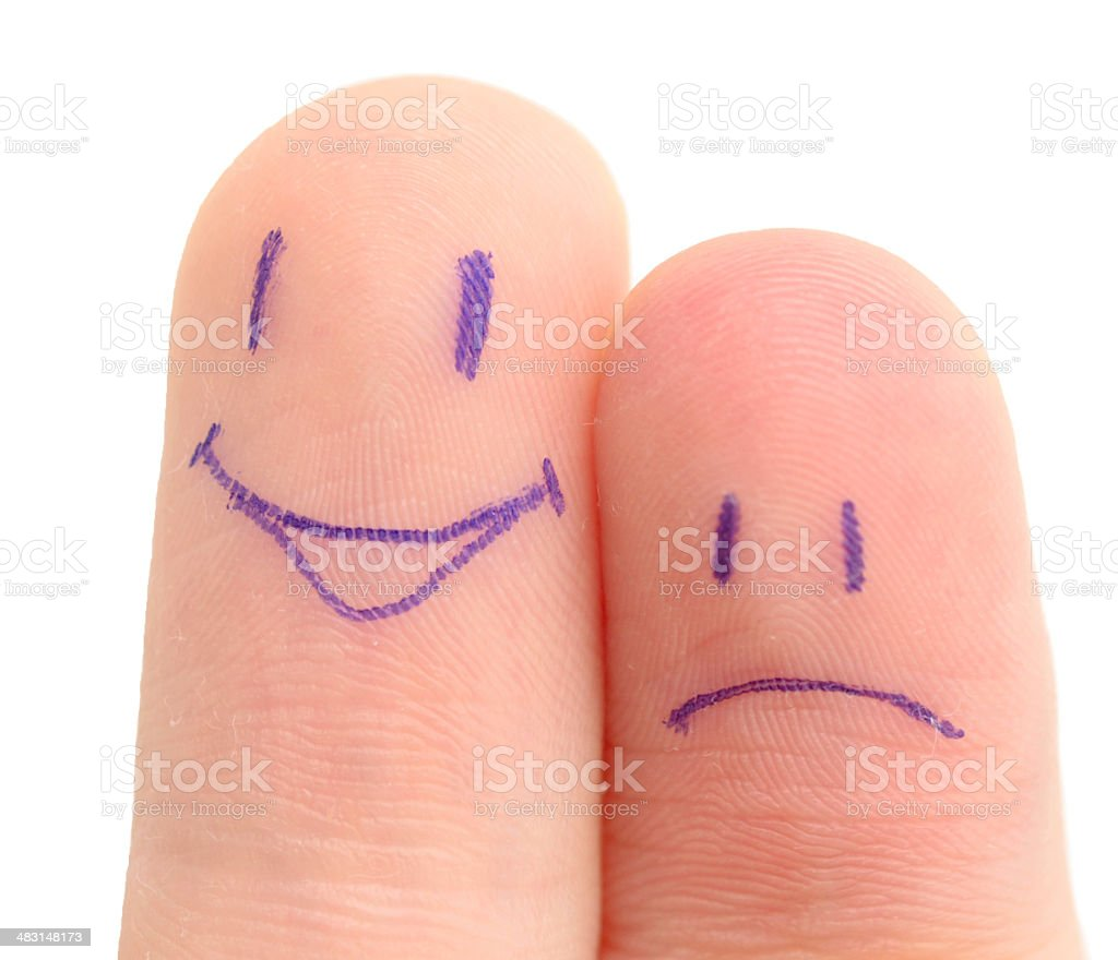 fingers couple royalty-free stock photo