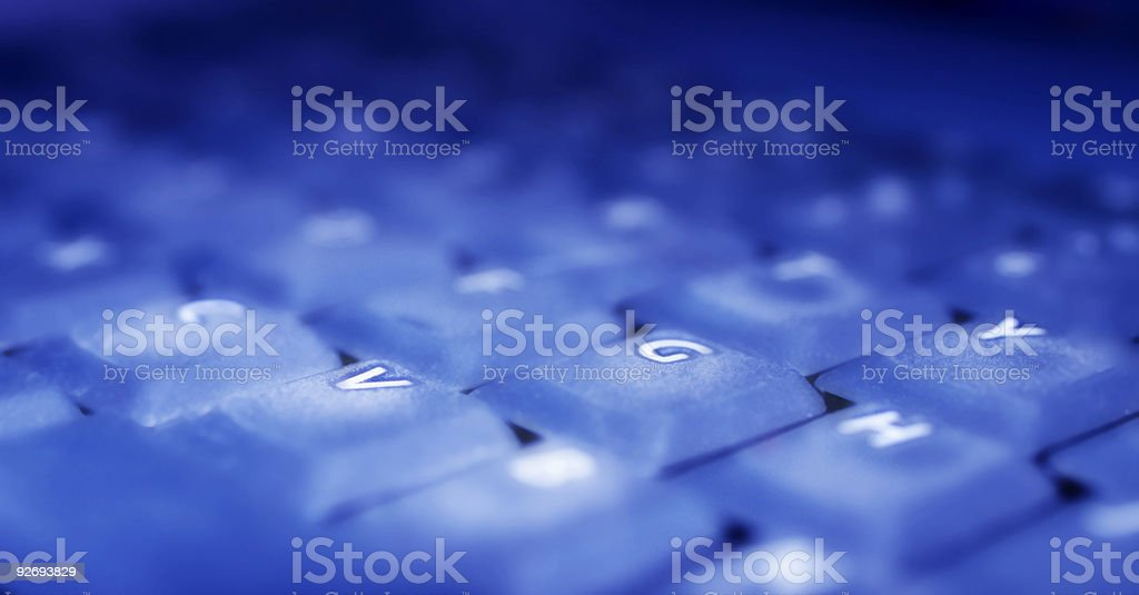 Fingers here royalty-free stock photo