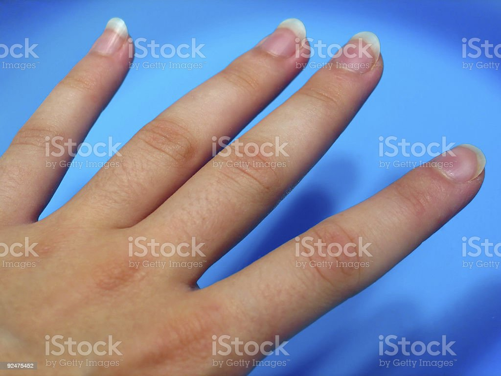 Fingers royalty-free stock photo