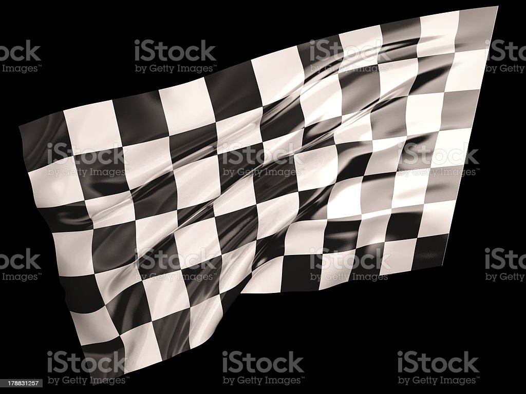 Finish flag royalty-free stock photo