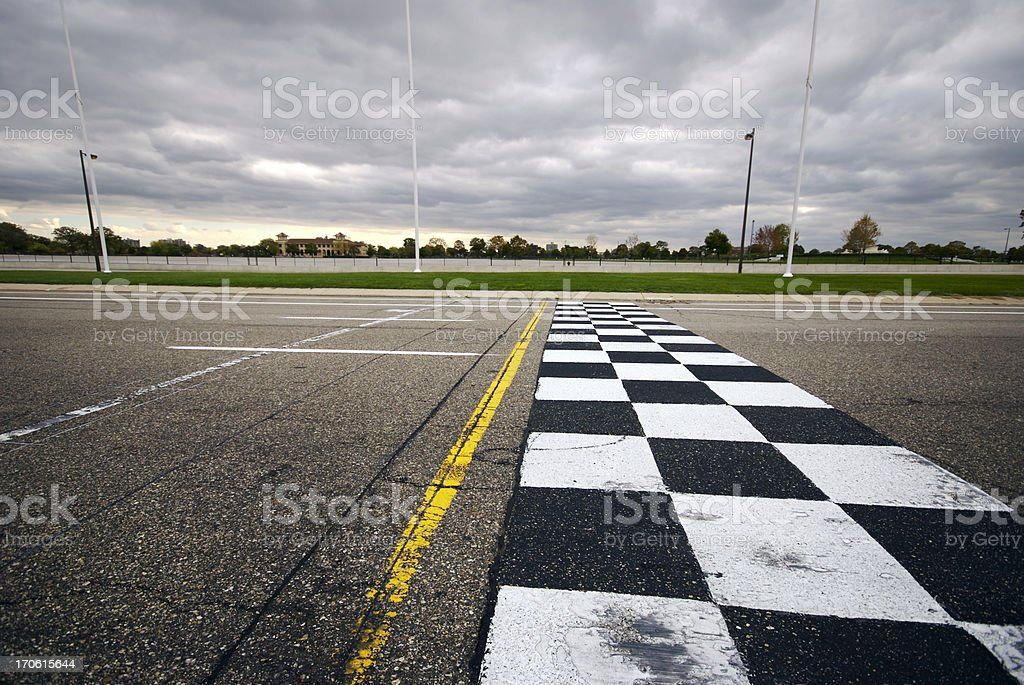 Finish Line (Wide) stock photo