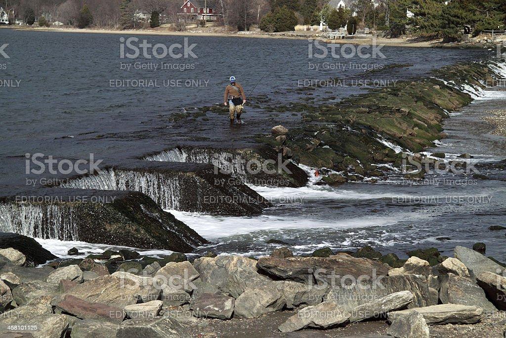 finished fisherman stock photo