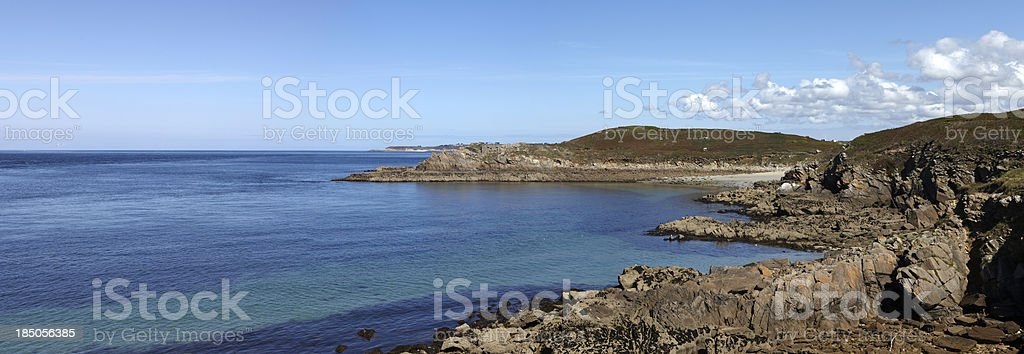 Finisterre Coast, Le Conquet, Britanny, France royalty-free stock photo