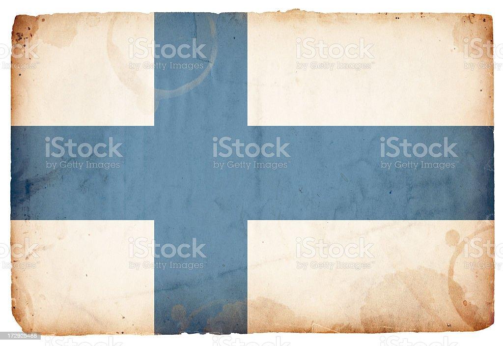 Finland Flag XXXL royalty-free stock photo