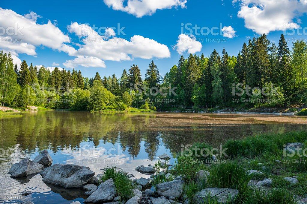 Finland. stock photo