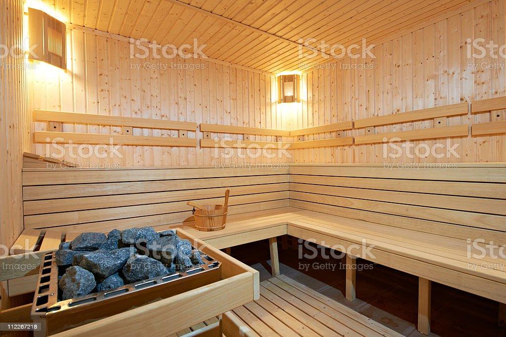 Finland sauna stock photo