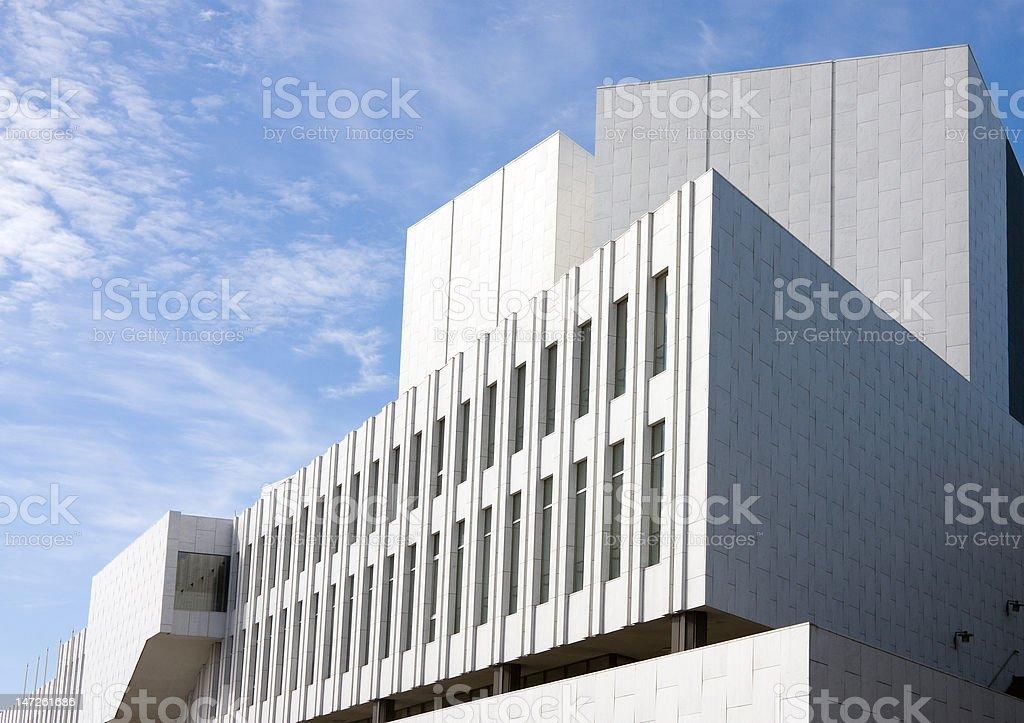 Finlandia Concert Hall stock photo