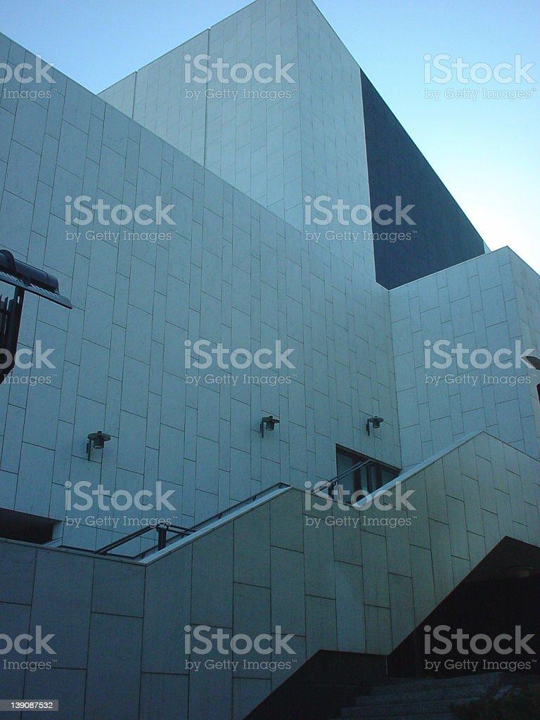 Finlandia hall stock photo