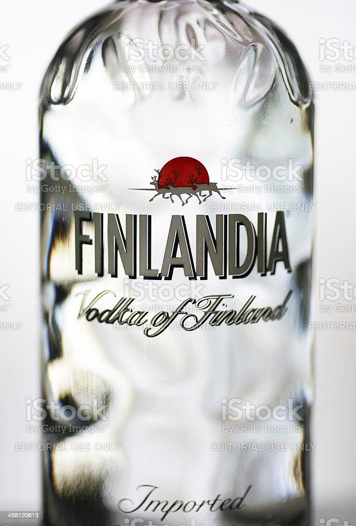 Finlandia vodka stock photo