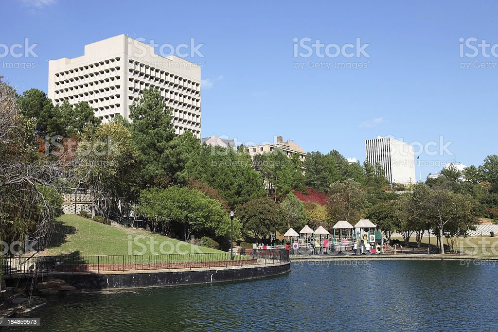 Finlay Park in Columbia stock photo