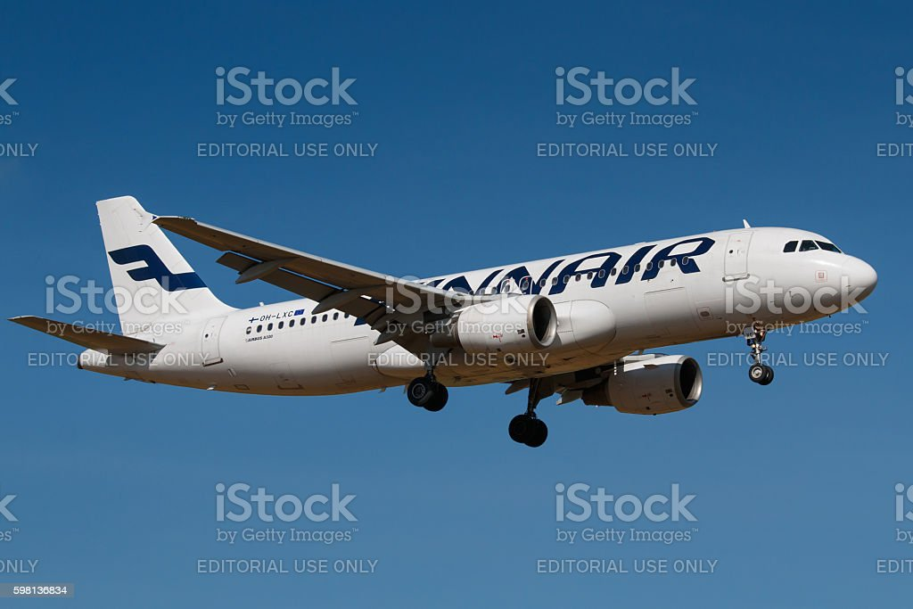 Finnair stock photo