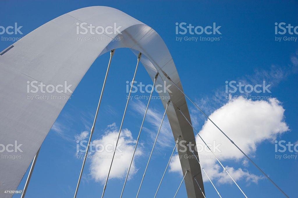 Finnieston Bridge Arc royalty-free stock photo