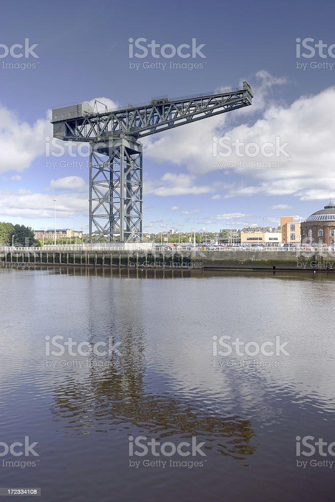 Finnieston Crane, Glasgow royalty-free stock photo