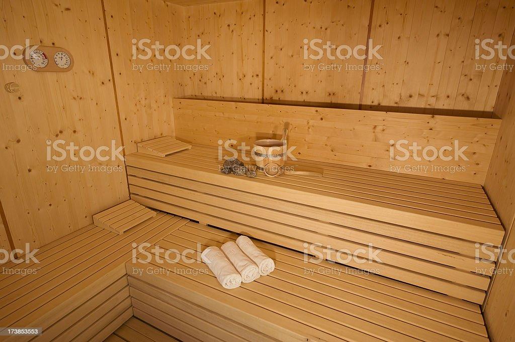 finnische sauna stock photo