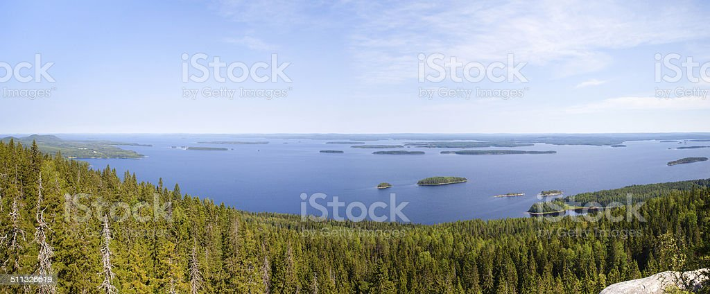 Finnish landscape royalty-free stock photo