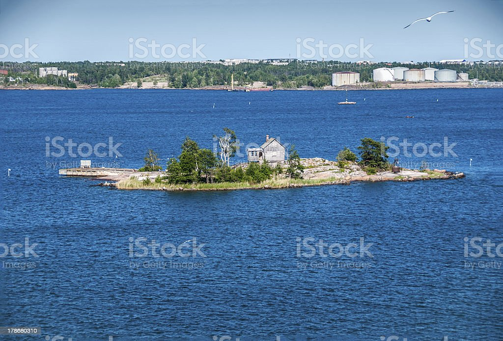 Finnish Nordic landscapes royalty-free stock photo