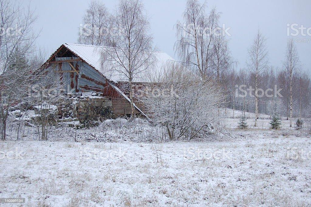 finnish solitude royalty-free stock photo