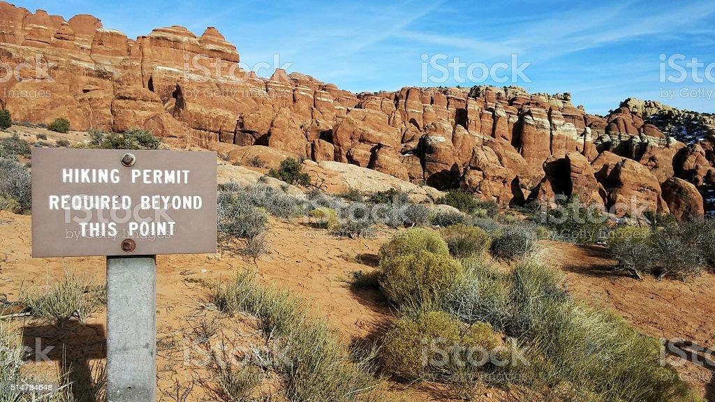Fins, Sandstone Slot Canyons Maze, Fiery Furnace, Arches Park, Utah stock photo