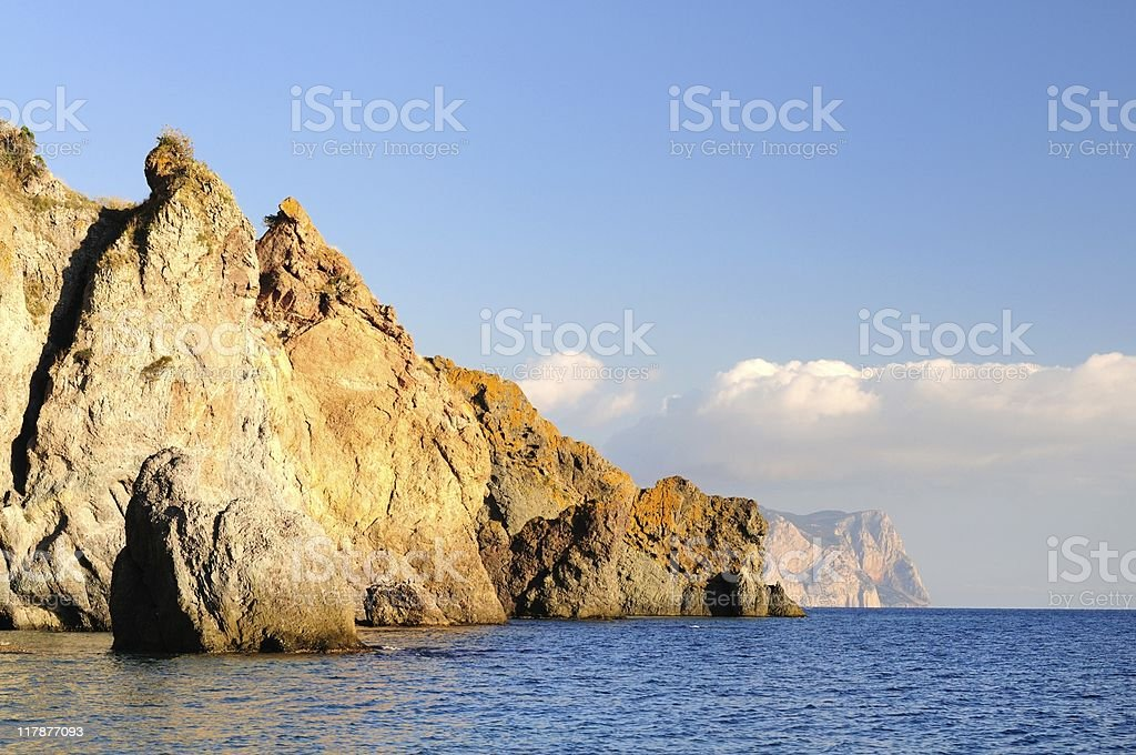 Fiolent cape royalty-free stock photo