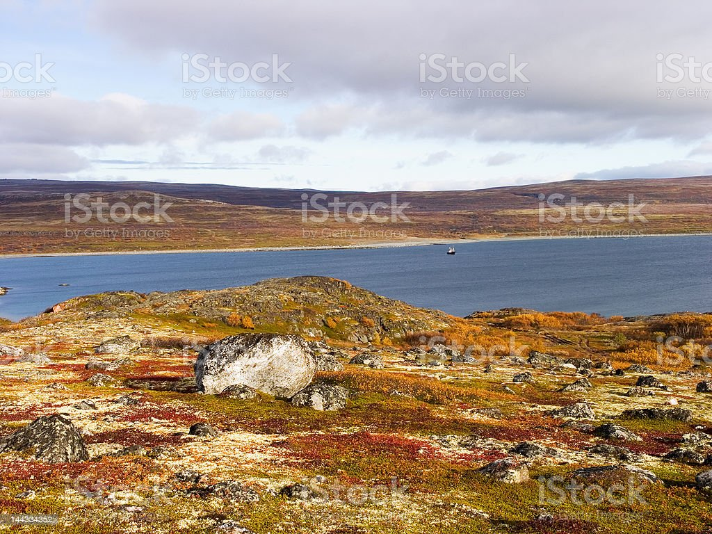 Fiord royalty-free stock photo