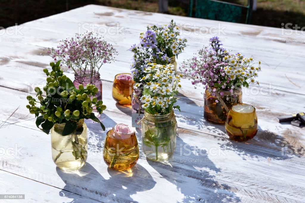 fiori stock photo
