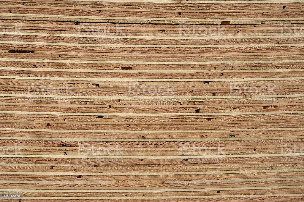 Fir Plywood royalty-free stock photo