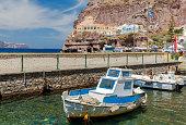 Fira. Old Port Gialos.