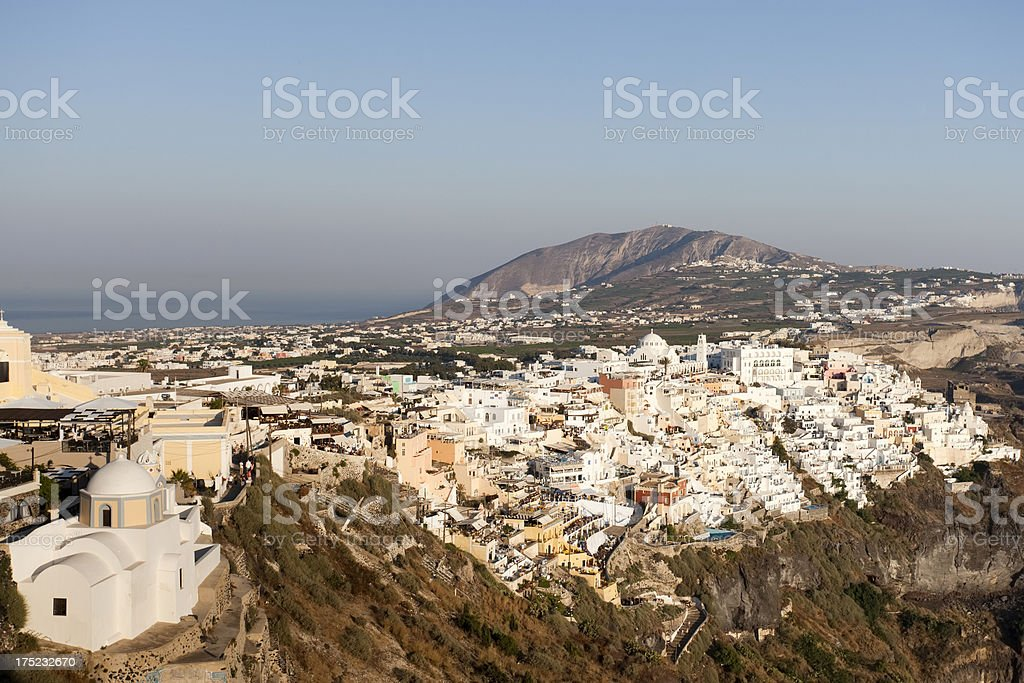 Fira, Santorini, Greece royalty-free stock photo