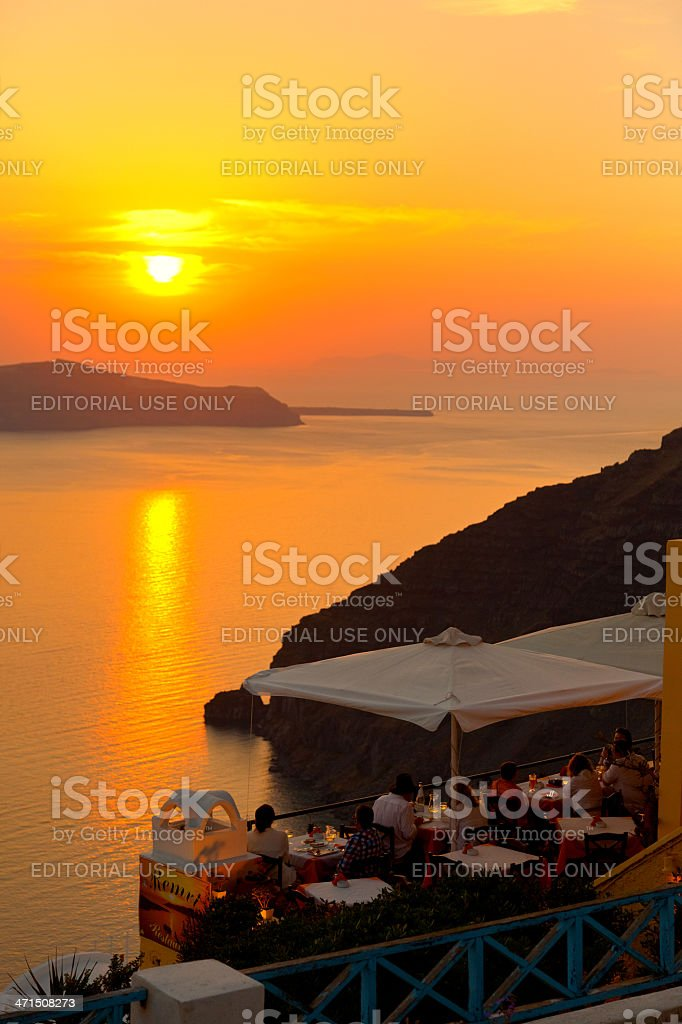 Fira, Santorini royalty-free stock photo
