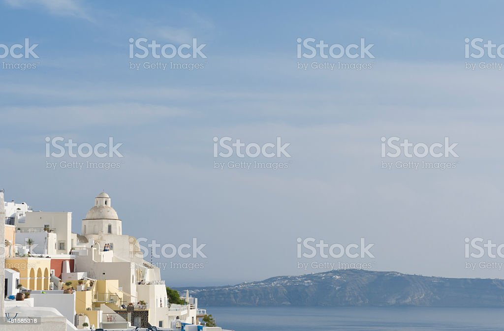 Fira, Santorini stock photo
