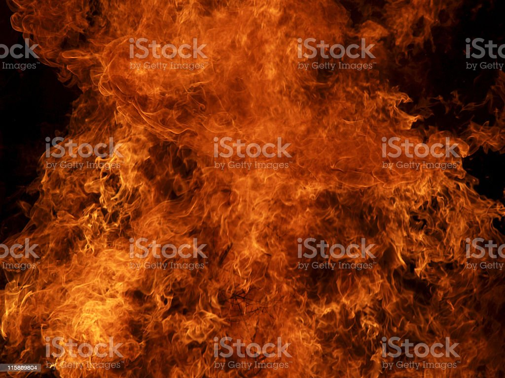 Fire [2] royalty-free stock photo