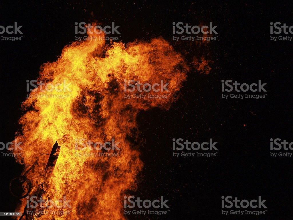 Fire [7] royalty-free stock photo