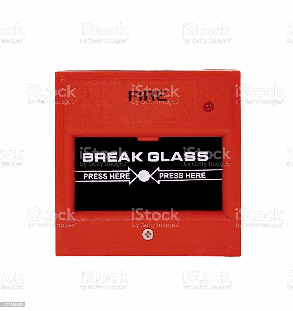 fire alarm royalty-free stock photo