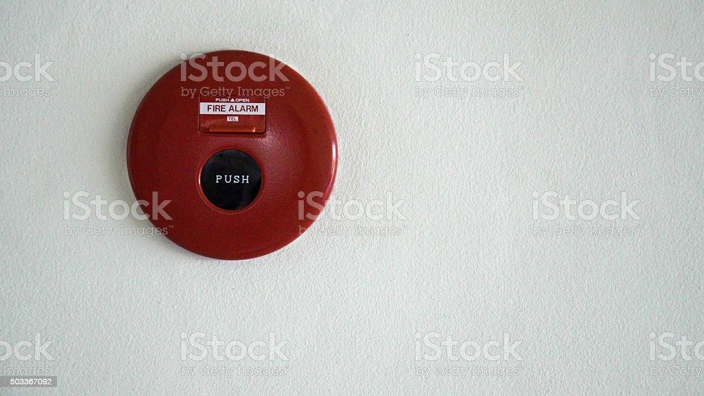 Alarma de incendios foto de stock libre de derechos