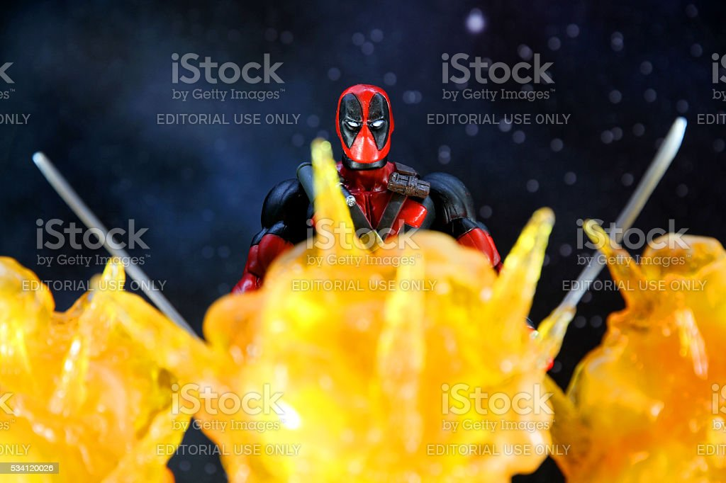 Fire and Death stock photo