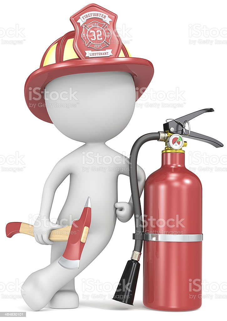 Fire and rescue. royalty-free stock photo